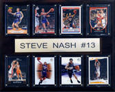 "NBA 12""x15"" Steve Nash Phoenix Suns 8 Card Plaque"