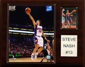 """NBA 12""""x15"""" Steve Nash Phoenix Suns Player Plaque"""