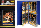 NBA Portland Trail Blazers Licensed 2010-11 Donruss Team Set Plus Storage Album