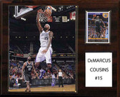 "NBA 12""x15"" DeMarcus Cousins Sacramento Kings Player Plaque"