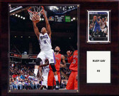 "NBA 12""x15"" Rudy Gay Sacramento Kings Player Plaque"