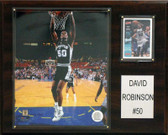 "NBA 12""x15"" David Robinson San Antonio Spurs Player Plaque"