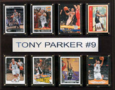 "NBA 12""x15"" Tony Parker San Antonio Spurs 8-Card Plaque"