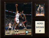 "NBA 12""x15"" Andrea Bargnani Toronto Raptors Player Plaque"