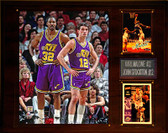 "NBA 12""x15"" Karl Malone- John Stockton Utah Jazz Player Plaque"