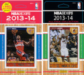NBA Washington Wizards Licensed 2013-14 Hoops Team Set Plus 2013-24 Hoops All-Star Set