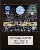 "NCAA Basketball 12""x15"" North Carolina Tar Heels 2009 National Champions Plaque"