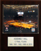 "NCAA Basketball 12""x15"" Assembly Hall Stadium Plaque"