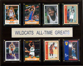 "NCAA Basketball 12""x15"" Kentucky Wildcats All-Time Greats Plaque"