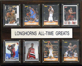 "NCAA Basketball 12""x15"" Texas Longhorns All-Time Greats Plaque"