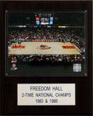 "NCAA Basketball 12""x15"" Freedom Hall Arena Plaque"