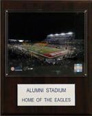 "NCAA Football 12""x15"" Alumni Stadium Stadium Plaque"