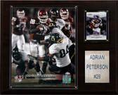 "NCAA Football 12""x15"" Adrian Peterson Oklahoma Sooners Player Plaque"