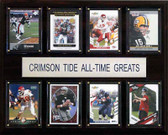 "NCAA Football 12""x15"" Alabama Crimson Tide All-Time Greats Plaque"
