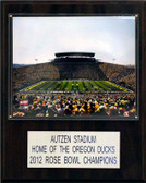"NCAA Football 12""x15"" Autzen Stadium Stadium Plaque"