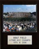 "NCAA Football 12""x15"" BB&T Field Stadium Plaque"