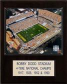 "NCAA Football 12""x15"" Bobby Dodd Stadium Stadium Plaque"