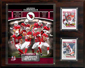 "NFL 12""x15"" Arizona Cardinals 2012 Team Plaque"