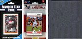 NFL Arizona Cardinals Licensed 2012 Score Team Set and Favorite Player Trading Card Pack Plus Storage Album