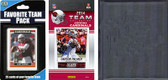 NFL Arizona Cardinals Licensed 2014 Score Team Set and Favorite Player Trading Card Pack Plus Storage Album