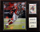 "NFL 12""x15"" Julio Jones Atlanta Falcons Player Plaque"