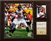 "NFL 12""x15"" Matt Ryan Atlanta Falcons Player Plaque"