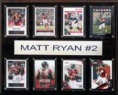 "NFL 12""x15"" Matt Ryan Atlanta Falcons 8-Card Plaque"