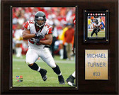 "NFL 12""x15"" Michael Turner Atlanta Falcons Player Plaque"