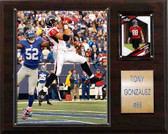 "NFL 12""x15"" Tony Gonzalez Atlanta Falcons Player Plaque"