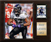 "NFL 12""x15"" Ray Lewis Baltimore Ravens Player Plaque"