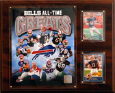 "NFL 12""x15"" Buffalo Bills All-Time Greats Photo Plaque"