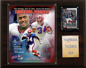 "NFL 12""x15"" Thurman Thomas Buffalo Bills Player Plaque"