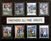 "NFL 12""x15"" Carolina Panthers All-Time Greats Plaque"