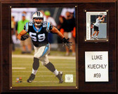 "NFL 12""x15"" Luke Kuechly Carolina Panthers Player Plaque"