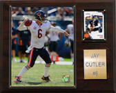"NFL 12""x15"" Jay Cutler Chicago Bears Player Plaque"