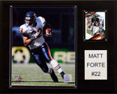 "NFL 12""x15"" Matt Forte Chicago Bears Player Plaque"