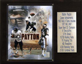 "NFL 12""x15"" Walter Payton Chicago Bears Career Stat Plaque"
