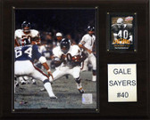 "NFL 12""x15"" Gale Sayers Chicago Bears Player Plaque"