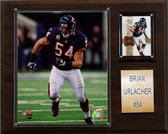 "NFL 12""x15"" Brian Urlacher Chicago Bears Player Plaque"