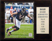 "NFL 12""x15"" Brian Urlacher Chicago Bears Career Stats Plaque"