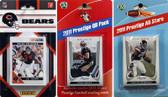 NFL Chicago Bears Licensed 2011 Score Team Set With Twelve Card 2011 Prestige All-Star and Quarterback Set