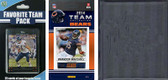 NFL Chicago Bears Licensed 2014 Score Team Set and Favorite Player Trading Card Pack Plus Storage Album
