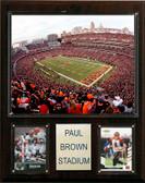 """NFL 12""""x15"""" Paul Brown Stadium Stadium Plaque"""