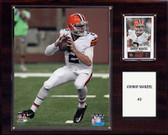 "NFL 12""x15"" Johnny Manziel Cleveland Browns Player Plaque"