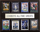 "NFL 12""x15"" Dallas Cowboys All-Time Greats Plaque"