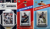 NFL Dallas Cowboys Licensed 2011 Score Team Set With Twelve Card 2011 Prestige All-Star and Quarterback Set