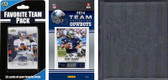 NFL Dallas Cowboys Licensed 2014 Score Team Set and Favorite Player Trading Card Pack Plus Storage Album