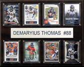 "NFL 12""x15"" Demaryius Thomas Denver Broncos 8-Card Plaque"