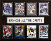"NFL 12""x15"" Denver Broncos All-Time Greats Plaque"