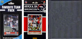 NFL Denver Broncos Licensed 2013 Score Team Set and Favorite Player Trading Card Pack Plus Storage Album